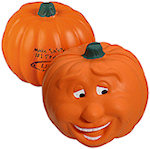 Pumpkin Smile Stress Balls